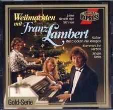 CD FRANZ LAMBERT - Weihnachten mit - Gold-Serie Ariola 1987 - WERSI-Orgel