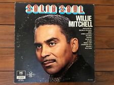 Willie Mitchell – Solid Soul 1967 Hi SHL 32045 Promo Jacket/Vinyl VG+