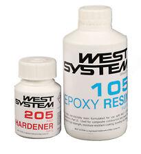 WEST SYSTEM Epoxidharz Junior Pack 105-205, schneller Härter Harz Bootsharz