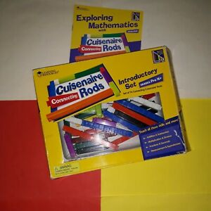 ==CUISENAIRE Connecting Rods== (Learning Resources) Introductory Set, 74 pieces
