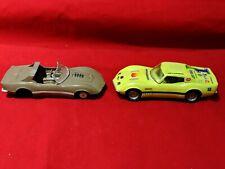 Model Car Corvette Junkyard Cars Lot of Two 1/32