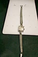 Gruen 14K 292R Ladies Watch 17 Jewels With Diamonds Working!!