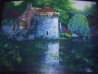Candamar Gold Collection Counted Cross Stitch Kit  #52402 Scotney Castle Garden