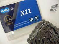 CHAIN KMC X11 EPT Anti-Rust protection MTB 11 speed 118 Links Shimano Sram Bike