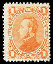 Scott # 36 - 1878 - ' President Francisco Morazan '