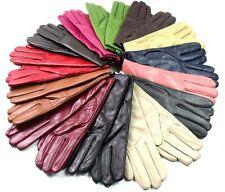 Damen Premium Hochwertig Echtes Weiches Leder Handschuhe Voll Gefüttert Warm
