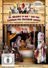 St. Nikolaus in Not & Wie das Eselchen ... Augsburger Puppenkiste DVD Pidax Neu