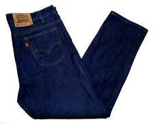 "*Levi's* Mens Vintage Orange Tab 505 Jeans 42""W X 30""L Indigo Blue Rigid (G345)"