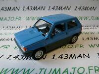 PL152U VOITURE 1/43 IXO déagostini POLOGNE : FIAT PANDA 45 I 3 portes bleu