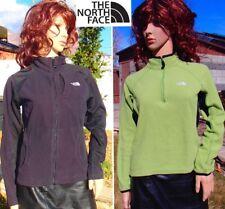 lot THE NORTH FACE tka 100 fleece jacket zip thermal baselayer top womens medium