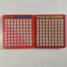 Magic Math Multiplication-1993 and Addition & Subtraction-1988 Machines Vtg