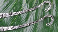 NP111 Wholesale lots 2pcs Tibetan Silver Carved Mermaid Shape Bookmarks 83MM