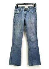 Levi Strauss Signature Women's Size 4 Medium Low Rise Bootcut Denim Blue Jeans