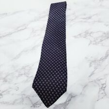 Mens Cambridge Collection 100% Italian Silk Tiny Paisley Neck Tie