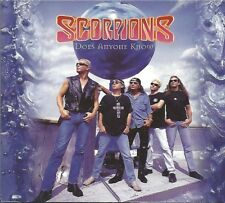 SCORPIONS / DOES ANYONE KNOW * NEW MAXI CD 1996 * NEU