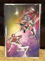 Amazing Spiderman 49 Clayton Crain Rainbow Variant NYCC 2020 Exclusive In Hand