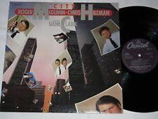 ROGER McGUINN CHRIS HILLMAN feat. GENE CLARK city LP 80 FOLK ROCK