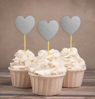 Darling Souvenir| Heart Cupcake Toppers| Wedding - Birthday Party-W2k