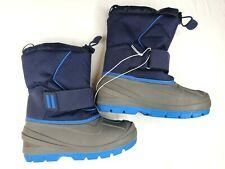 Cat & Jack Boys Winter Snow Boots Blue Size 1