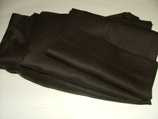 MENS JOS. A. BANK DRESS PANTS SIZE 36 X 33 WOOL CASHMERE BROWN SOLID #099