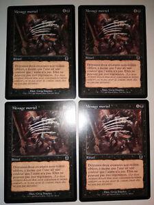 MTG Magic : Playset (4x) Menage mortel Dead Ringers  Apocalypse VF Exc