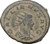 GALLIENUS son of Valerian I Asia mint  Rare Ancient Roman Coin Jupiter i47022