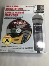 Emerson Plug N Sing Karaoke System 30 Pop/rock Karaoke Songs DVD XBOX XBOX360 PS