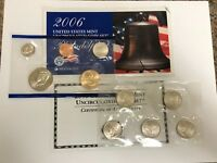 2006 US MINT PHILADELPHIA UNCIRCULATED COIN SET with STATE QUARTERS