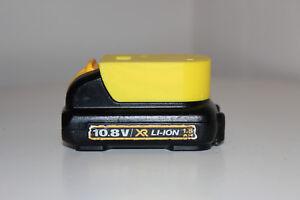 5x Yellow battery holder / cover for DeWALT XR 10.8v / 12v