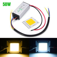 NEW LED Driver 50W Transformer+LED SMD Chip Bulbs Power Supply IP65 Floodlight