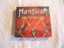 "Manowar ""The Sons of Odin"" cd & DVD 2006 Immortal Edition Box New Sealed"