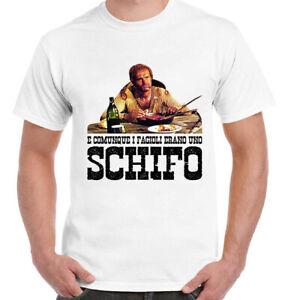 T-Shirt E COMUNQUE I FAGIOLI ERANO UNO SCHIFO Trinità Terence Hill idea regalo