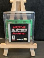 ECW Hardcore Revolution (Nintendo Game Boy Color, GBC) *Authentic*Tested*Clean*