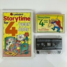 LADYBIRD Story Time for 4 year Olds Book & Audio Cassette Tape 1994