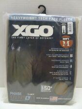 XGO Mens Phase 4 Performance Heavy Tech Face Fleece Pants Medium 499 tan