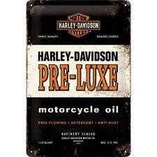 Nostalgic-Art - Blechschild - 20 x 30 cm - Harley-Davidson - PRE-LUXE