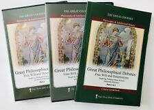 Great Courses Great Philosophical Debates Free Will Determinism DVDs & Guidebook