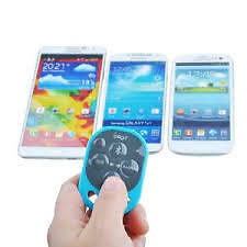 Bluetooth Remote Control Self-Timer Camera Shutter For iPhone iPad Galaxy Note(B