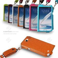Luxury Good Quality Leather Case Pouch Cover For Samsung Galaxy Note 2 II N7100
