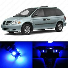 20 x Blue LED Interior Light Package For 2001 - 2007 Dodge Caravan + PRY TOOL