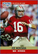 1990 Pro Set Joe Montana #293 Football Card