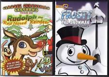 Christmas Cartoons #1 (DVD) & Frosty The Snowman & Friends (DVD)