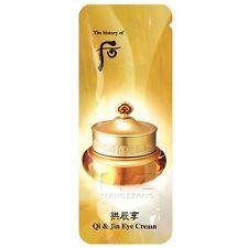 The history of Whoo Qi & Jin Eye Cream 30pcs +GIFT Korean Cosmetics Treatments