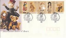 1997 Australian Dolls & Bears FDC