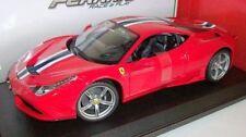 Véhicules miniatures rouge sous boîte fermée pour Ferrari 1:18