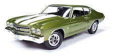 1970 Chevrolet Chevelle CITRUS GREEN 1:18 Auto World 1028