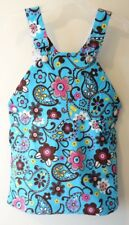 Brand New ~ Kelly's Kids Natalie Turquoise Paisley Overall Jumper Girl's Sz 10