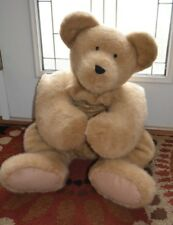 "Boyds Bears Rare HTF Rug-Hugger Layona Rugsley Jumbo Giant Plush 40"" Teddy Brown"
