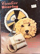 Leisure Arts Creative Weaving Patterns Pb Book 1977