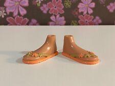 Bratz Dolls Shoes Feet Sun Kissed Summer Beach Sandal Rare Item! MGA